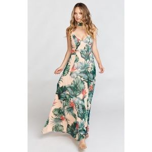 Show Me Your Mumu Jenn Maxi Dress Kauai Kisses
